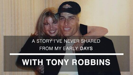 Niurka with Tony Robbins