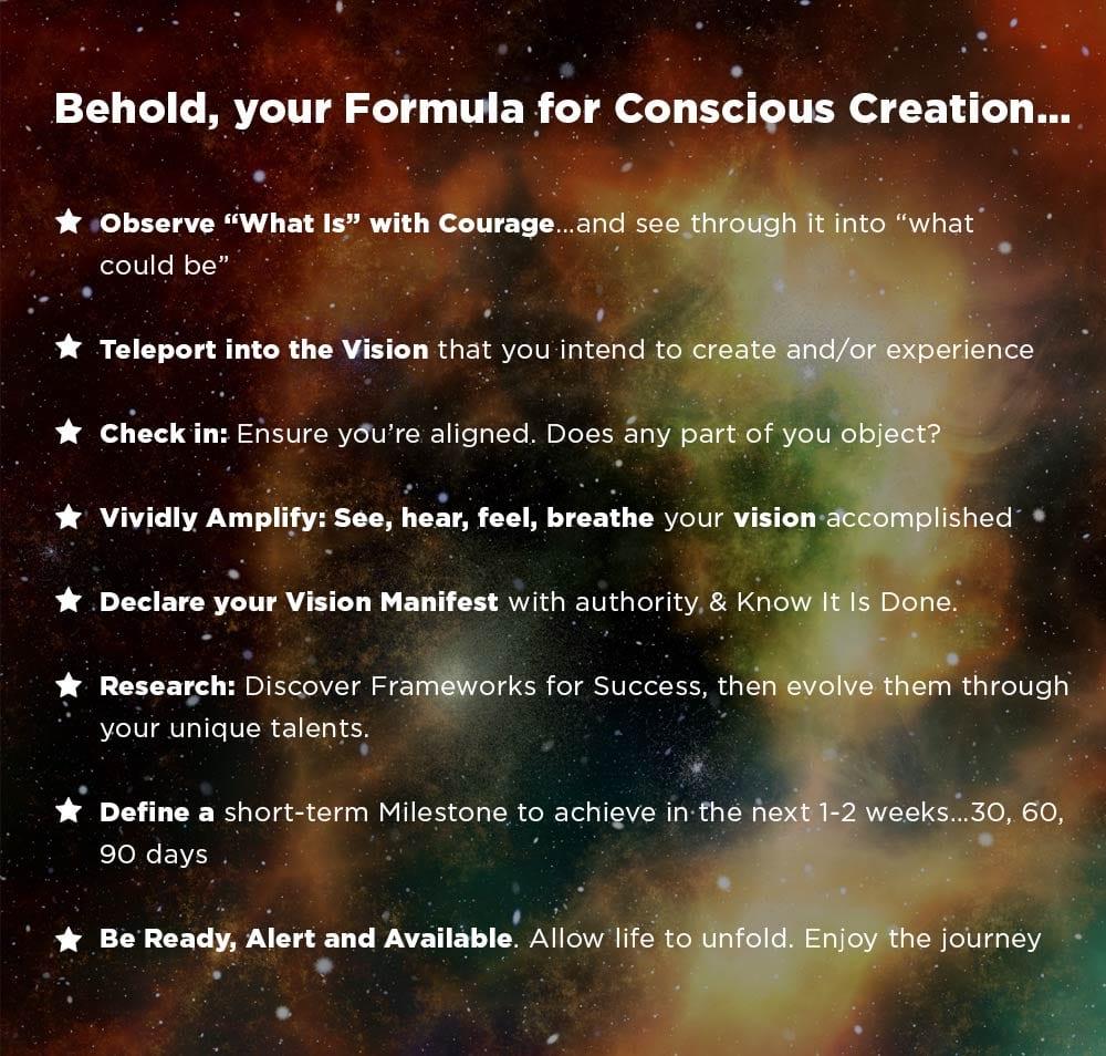 Your Formula For Manifesting Your Vision Niurka Inc