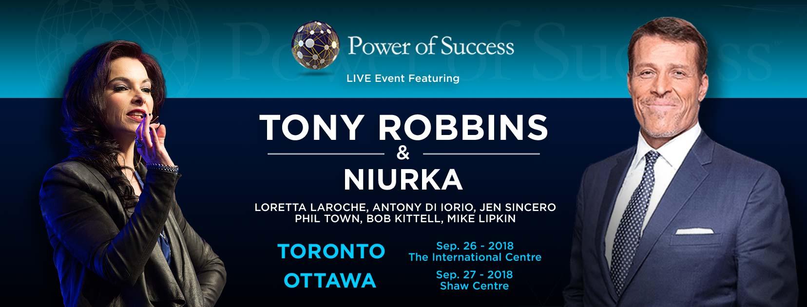 Niurka and Tony Robbins