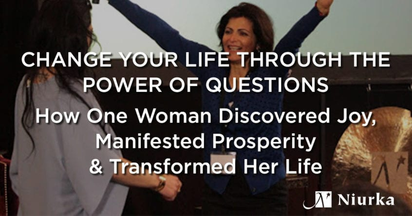 Niurka guides woman to change her life through the power of questions